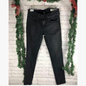 RAG&BONE black skinny mid rise jeans 28
